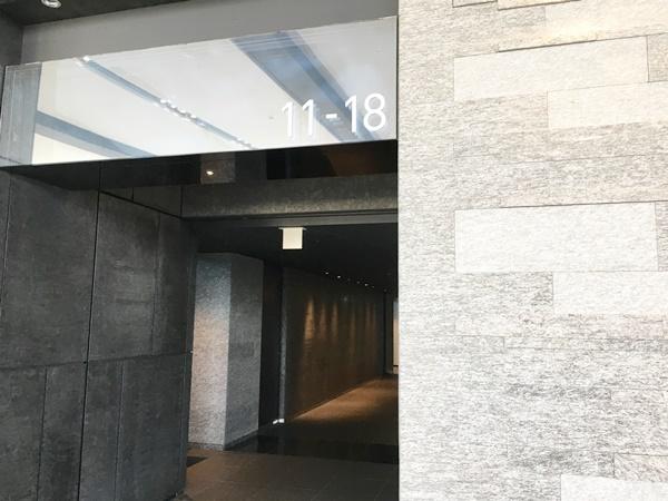 グランフロント11階エレベーター